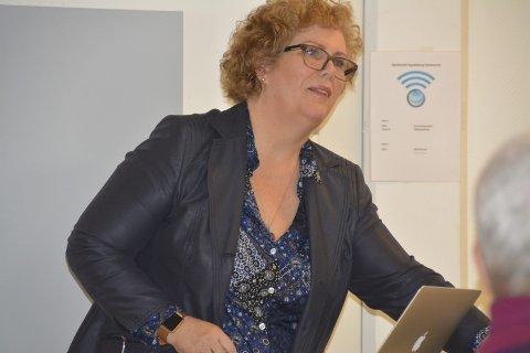 Sikre kvalitet: Gry Sjødin Neander (55) skal sørge for at betalingsrutinene i Spydeberg bedres. Hun er ny, midlertidig rådmann i kommunen.