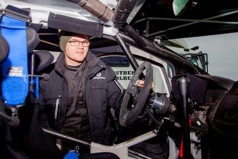 Oscar Solberg, her fra Rally Sweden i fjor.
