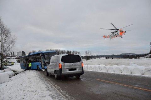 Dødsulykke: Ulykken ved Kallak i Marker har endt tragisk. En 8 år gammel jente døde av skadene.