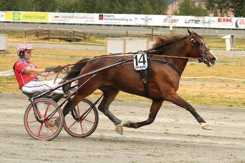 GOD: Brenne Blissi og Åsbjørn Tengsareid vant på Biri.