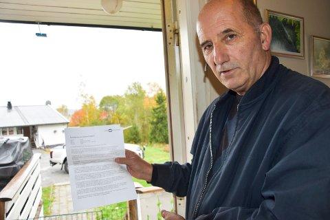 Ulvejeger: Håvard Jensen har papirene i orden for å bli ulvejeger. - Det må jo tillates med lisensjakt på ulv først, forklarer han.