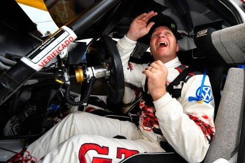 FREMTIDEN ER ELBILER: Petter Solberg er ikke ferdig bak rattet. Målet er å stille til start i Rallycross-VM i 2021 med en elbil.