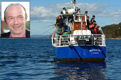 Formann i Båstad Havfiskeklubb Arve Reitan fra Knapstad har fisket utallige ganger i Oslofjorden. Han mener noe må gjøres for å bedre fiskebestanden.