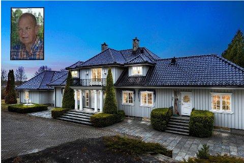 Trygve Osvald Stendahl Resell (innfelt) kjøpte årets dyreste enebolig.