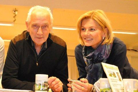 Jan Gander og Grete Skjelbred inviterer til dialogmøte.