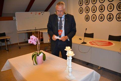 ØNSKER FOLKEVEKST: Ordfører Petter Schou gleder seg over alle som flytter til Spydeberg og han vil gjerne ha flere innbyggere. Spydeberg var fjorårets lokale befolkningsvinner.