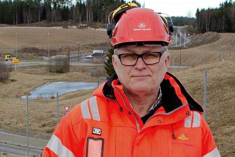 Lars Frode Christiansen, sier at folk må belage seg på kø i byggeperioden.
