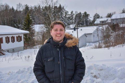 Bygger Skjønhaug-leiligheter: Jon Terje Lian i Lian Holdning as starter bygging av åtte nye leiligheter på Skjønhaug.