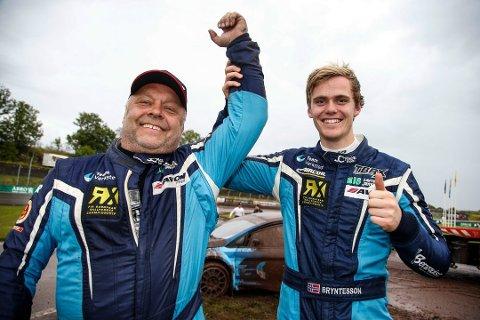 Ola Frøshaug og Thomas Bryntesson fortsetter som teamkamerater i 2018, på samme måte som i fjor.