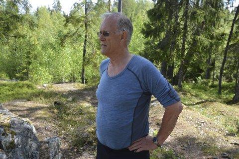 Takknemlig: Styreleder Fred Larsen er svært takknemlig for innsatsen Signe Grønvik har gjort i styret. Arkivfoto