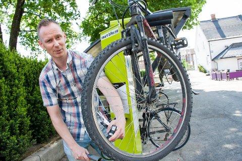Sykkelby: - Arbeidene med sykkelstiene starter til sommeren, opplyser Espen Lystad ved service, teknikk og eiendom i Askim kommune.
