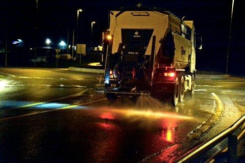 Veidrift planlegger å forsalte veiene i Indre Østfold i dag for å være forberedt på snøværet som er meldt.