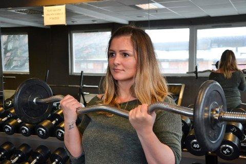 Jobber seg tilbake: Marina Scepanovic bruker utallige timer på treningssenteret. Hun seg sakte men sikkert tilbake i form.