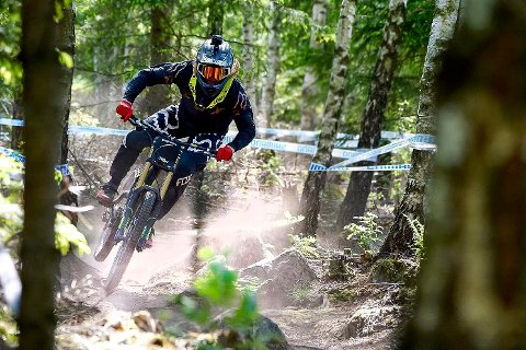 GOD TRENING: Brage Vestavik (19) tok helgens EM i Portugal som god trening inn mot en lang sesong med downhillsykling.