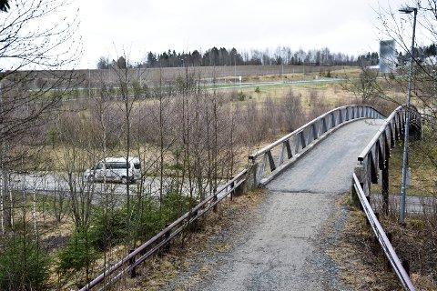 For nær veien: I dette området mellom landemerket på E18 og fylkesvei 115 mot Skiptvet er veianlegget planlagt. Statens Vegvesen mener det kommer for nær veiene i området.