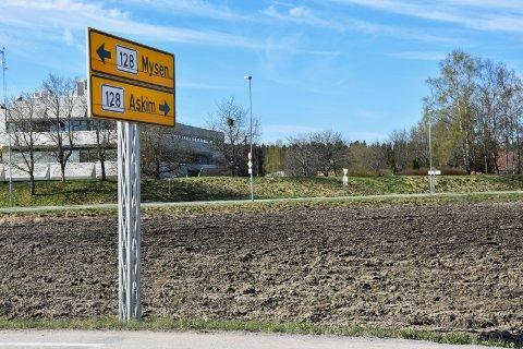Trøblete jorde: Dette er Sekkelsten i Askim, jordet både lokalpolitikerne i Askim og Eidsberg krangler om.