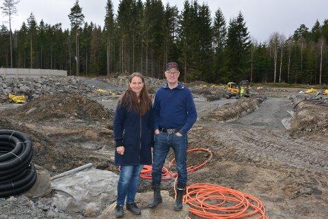 OST: Her skal Spydeberg-paret Randi Liverud og Erlend Teig starte produksjon av ost.