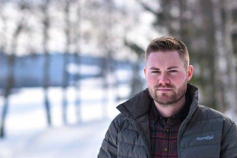 Andreas Helbæk jr. Prosjektleder rovviltprosjektet i Spydeberg, Skiptvet, Hobøl og Våler.
