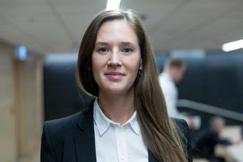 GOD STEMNING: Jeanette Strøm Fjære i DNB Markets er en av økonomene bak DNBs nye anslag. Pressefoto: Paul Weaver