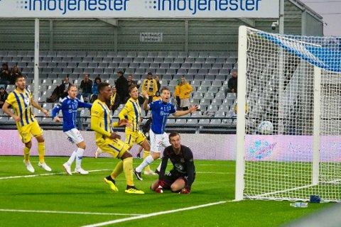 Sarpsborg 08 vant første kamp på hjemmebane.