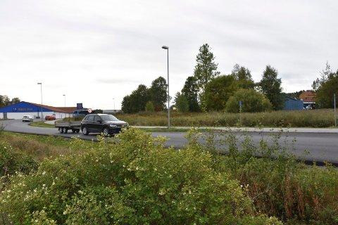 Får konkurrent: Dagens Rema-butikk i Hurrahølet får  en konkurrent i den nye butikken i Frydenlundveien.