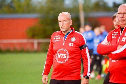 HAR TROEN: Ørje-trener Knut Skogstad har troen på seier mot Mysen/HIL mandag kveld.
