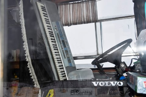 Pianobussen: Eieren av bussen med pianoet i førersetet er funnet.