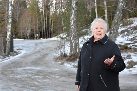 Ildsjel: Unni Andresen er Romsåsens ildsjel. Nå kan hun få en nesten 150 år gammel turbin til området, når hun åpner turistsesongen og starter guidingen for turister 19.mai i år.