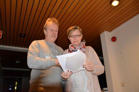 Gunnar Espelid og Rowena von Ohle.
