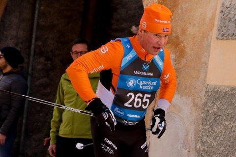FEM STRAKE SEIRER: Øyvind Wennersberg tok klasseseier i Marcialonga for femte året på rad søndag. Da gikk han til topps i klasse M60-69 år og slo over 700 løpere.