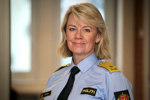 Ida Melbo Øystese, fungerende politimester i Øst politidistrikt