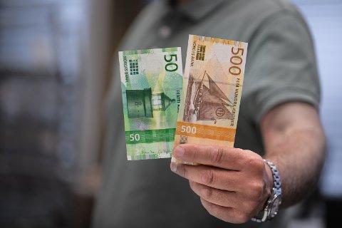 ØKT SIKKERHET: De nye sedlene har flere avanserte sikkerhetselementer.