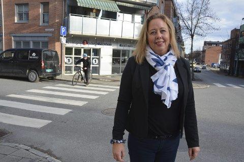 Ny banksjef: Ann Kristin Solli Borgersen (45) er ny sjef i Sparebank 1 Østfold-Akershus avdeling Askim. – Jeg er veldig opptatt av å utvikle banken, sier hun.