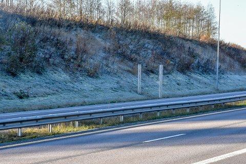 Noen kom veivesenet i forveiene da Eidsbergs kommuneskilt skulle fjernes.