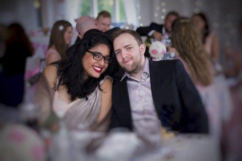 Bryllup: Neha Verma og Joachim Vedal Johansen giftet seg i 2016.