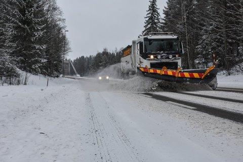 Torsdag er det meldt snøvær i Indre Østfold. Det kan bety vanskelige kjøreforhold flere steder.