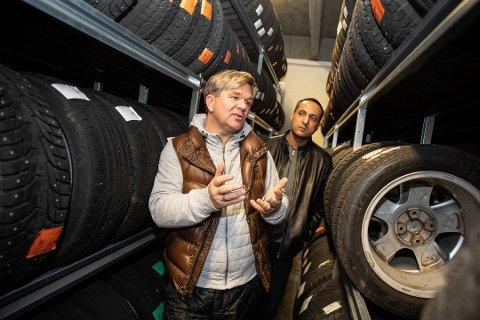 ERSTATNINGSKRAV: Ramiz Safdar har berammet Henning Solberg konkurs. Nå er rettssaken utsatt en uke. Foto: Hallgeir Vågenes, VG