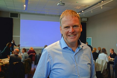 Georg Smedhus blir sjefen over alle sjefer i Indre Østfold kommune. Også kalt rådmann.