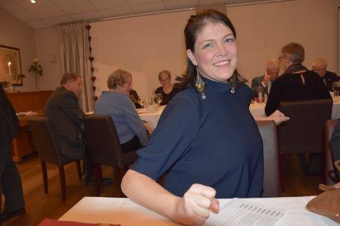Har stemt blått: Ap-leder  Kathrine Hestø Hansen i Indre Østfold innrømmet at hun har stemt borgerlig.