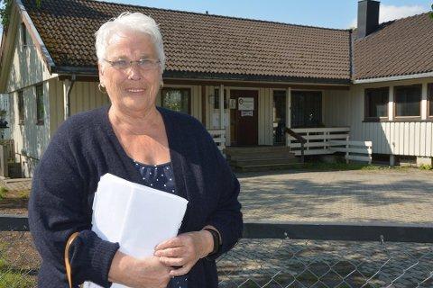 Kari Ørnø ønsker egentlig ikke en blokk der Betania ligger i dag. Nå har Fylkesmannen lyttet til hennes naboklage.