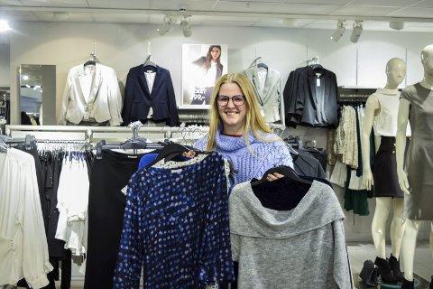 IMPULSKJØPER: Silje Bruun Haugen (18) fra Askim mener hun selv er en impulskjøper.
