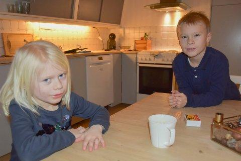 Konsert: Søsteren Ruth (6) har allerede vært på en konsert med Sølvguttene og storebror Vetle Ullnæss Aas. – Det var bra, sier hun.