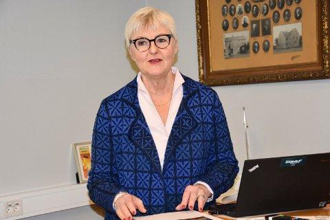 Leder 2 millioner mennesker: Valgerd Svarstad Haugland er den nye fylkesmannen for en region med nærmere 2 millioner mennesker. Hun lover ikke å glemme innbyggerne i små kommuner som Skiptvet og Marker.