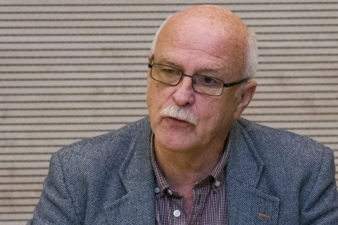 Olav Strand, partner i Ostra Consult, som krever Spydeberg kommune for 14,5 millioner kroner.