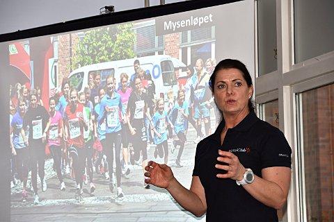 Eier og daglig leder Nina Kjoshagen på Family Sports Club Mysen er glad for sammenslåing ,ed Stamina Trening.