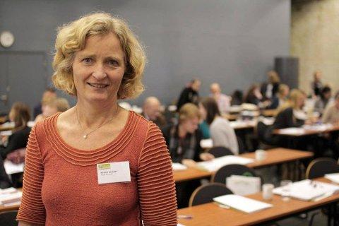 2. kandidat i Indre Østfold Sp Kristin Ianssen.