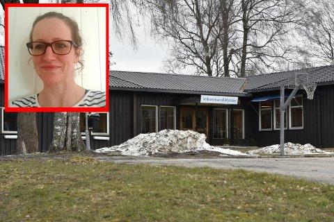 USIKKER FRAMTID: Verneombud på Mysebu statlige mottak, Gitte Grav, sier de ansatte har prøvd å holde motet oppe.