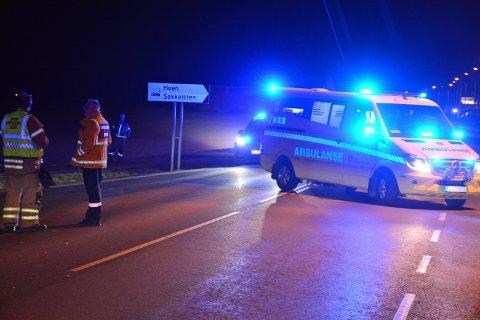 Ulykken skjedde ved avkjøringen til Hoen/Sekkelsten-feltet.