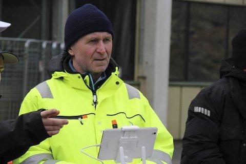 Aksel Reeno Simenstad vil ikke ha vindmøller. Arkivfoto