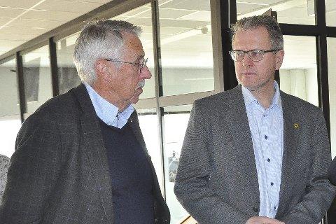 Petter Schou og Erik Unaas